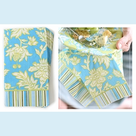 Amy Butler Parrot Tulip Guest Towels - click to enlarge