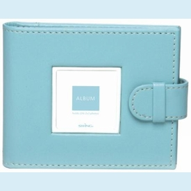 Aqua Mini Photo Wallet - click to enlarge