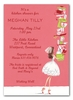 Balancing Bride Invitation
