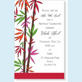 Bamboozled Invitation - click to enlarge