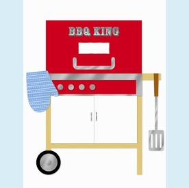 BBQ King Invitation - click to enlarge