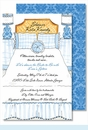 Bed & Bath Large Flat Invitation
