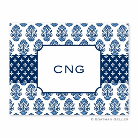 Beti Navy Folded Notes (set/25) - click to enlarge