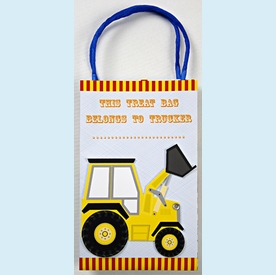 Big Rig Truck Party Bags - click to enlarge