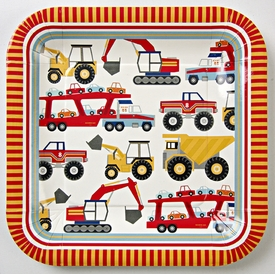 Big Rig Truck Plates - click to enlarge