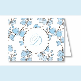 Blue Dogwood Note Cards - click to enlarge