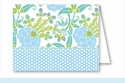 Blue/Green Garden Note Cards