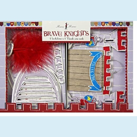 Brave Knights Invitation & Thank You Set - click to enlarge