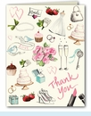 Bridal Style Thank You Notes