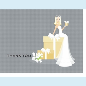 Bride on Gift Notes - Blonde - click to enlarge