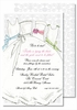 Bridesmaids Large Flat Invitation