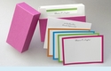 Bright Borders Personalized Notes (40 cards)