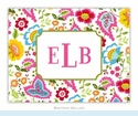 Bright Floral Folded Notes (set/25)