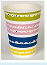 Bright Patterned Party Cups