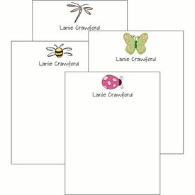 Bugs Cute Collections Notepad Set - click to enlarge