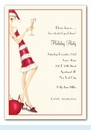 Candy Cane Girl Invitation