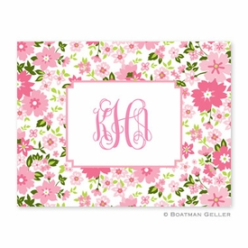Caroline Floral Folded Notes (set/25) - click to enlarge