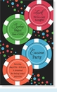 Casino Confetti Invitation