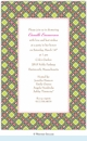 Chateau Trellis Invitation