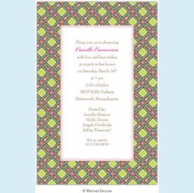 Chateau Trellis Invitation - click to enlarge