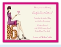 Chic Sixteen Invitation