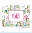 Chinoiserie Spring Folded Notes (set/25)
