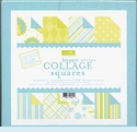 Collage Squares - Happy Blue