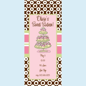 Cupcake Display Invitation - click to enlarge