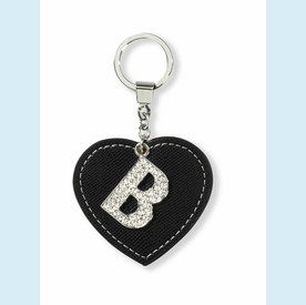 "Dazzle Initial ""B"" Key Chain - click to enlarge"