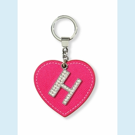 "Dazzle Initial ""H"" Key Chain - click to enlarge"