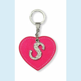 "Dazzle Initial ""S"" Key Chain - click to enlarge"