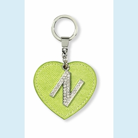 "Dazzle Initial ""N"" Key Chain - click to enlarge"