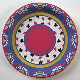 Deal the Cards Snack Plates - click to enlarge