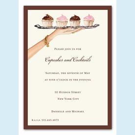 Dessert Tray Invitation - click to enlarge