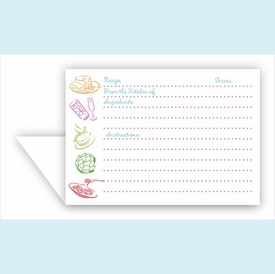 Double Recipe Card - Epicure Collection - click to enlarge