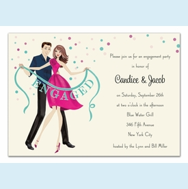 Engaged! Banner Invitation - click to enlarge