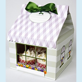 Flower Shop Large Cupcake Box - click to enlarge