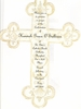 French Cross Invitation