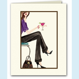 Girls' Night Out Note Card - click to enlarge