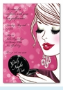 Glam Girls Night Out Invitation