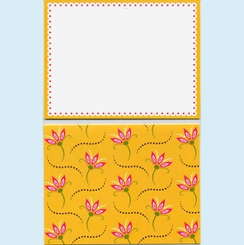 Gold & Pink Note Card Set - click to enlarge