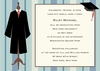 Graduation Stripes Invitation (1.5 sets=12 total invites)