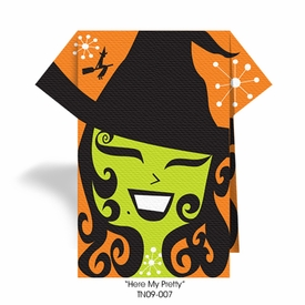 Hello My Pretty Witch Theme Napkins - click to enlarge