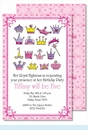 Her Royal Highness Large Flat Invitation