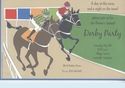 Horse Derby Invitation