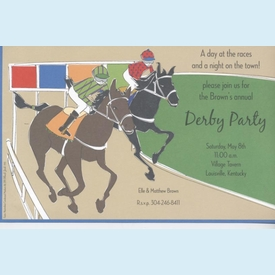 Horse Derby Invitation - click to enlarge