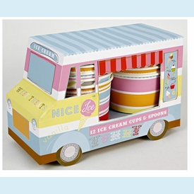 Ice Cream Truck Ice Cream Cups - click to enlarge
