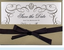 Ink Script Pocket Ensemble Invitation
