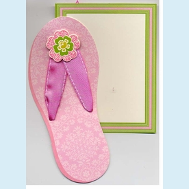 Isabelle Flip Flop Invitations - click to enlarge
