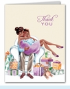 Kisses for Baby Neutral Thank You Notes (Multicultural)